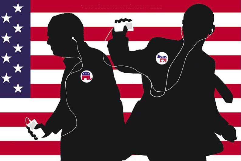 Si la musique servait de baromètre dans la campagne... (Illustration: La Presse)