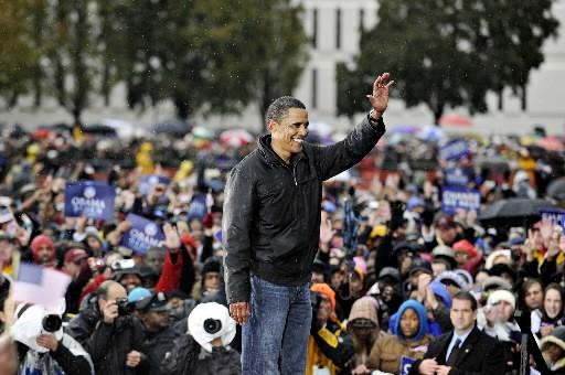Barack Obama... (Photo: Bloomberg)