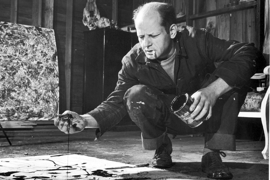 Un tableau de Jackson Pollock sera exposé du 13... (Photo: Martha Holmes, Life)
