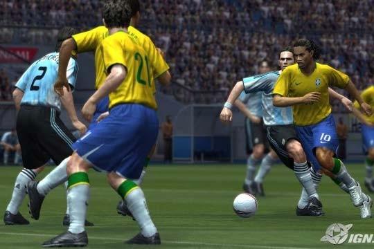Pro Evolution Soccer 2009... (IGN.com)