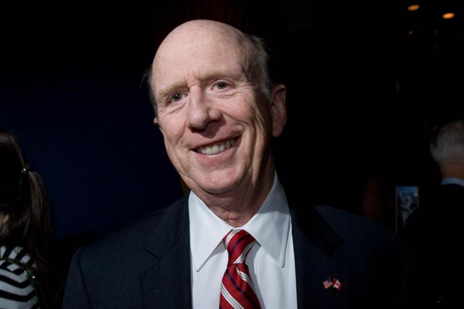 L'ambassadeur américain à Ottawa, David H. Wilkins.... (Photo: Alain Roberge, La Presse)