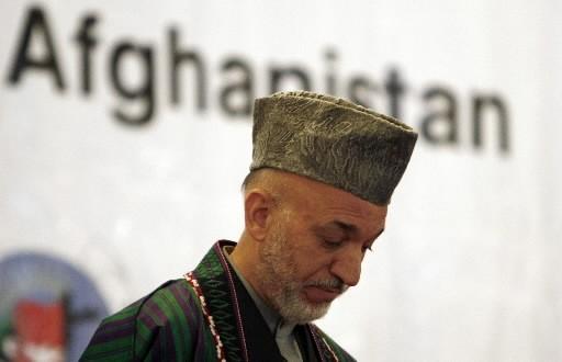 Le président afghan Hamid Karzaï a reconnu mercredi l'échec de... (Photo Reuters)
