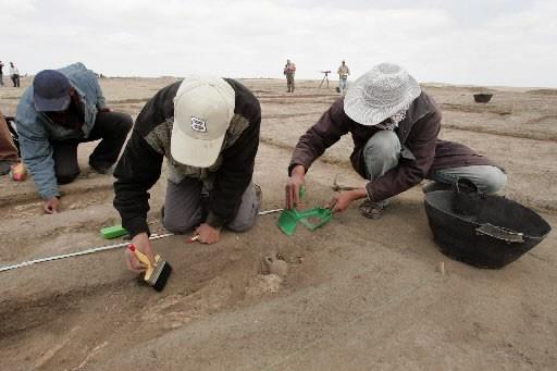 Des fouilles archéologiques ont permis de découvrir près... (Photo: archives AFP)