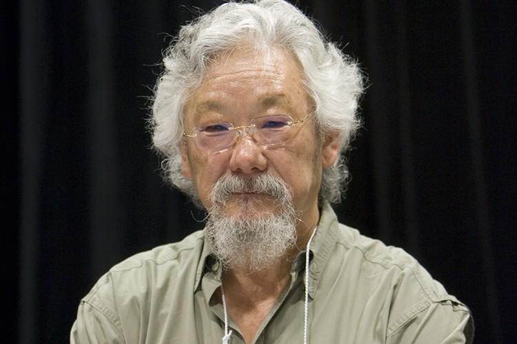 David Suzuki.... (Photo: Robert Skinner, La Presse)