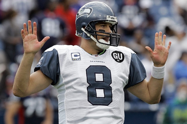 Matt Hasselbeck est toujours ennuyé par une blessure... (Photo: AP)