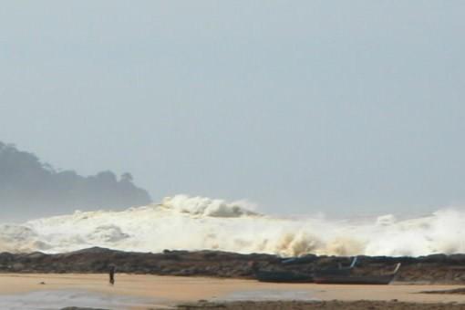 Le tsunami en Thaïlande, en 2004... (Photo CP)