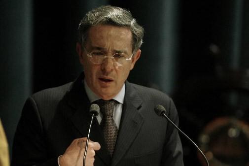 Alvaro Uribe...