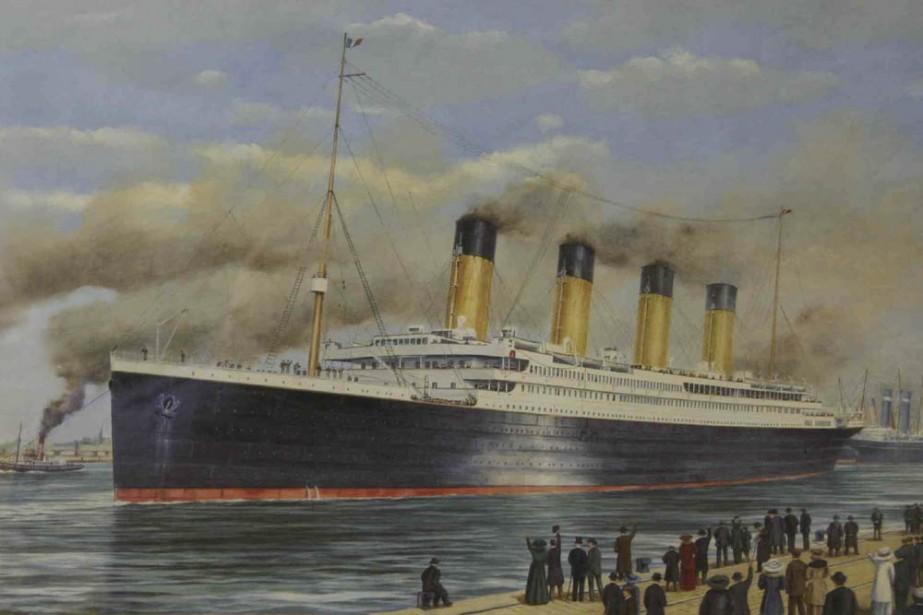 Une reproduction d'artiste du célèbre Titanic.... (Photo: AFP)
