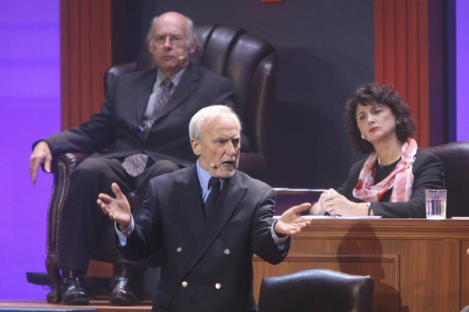 Dans Les Parlementeries 4, le Québec est dirigé... (Photo: Martin Chamberland, La Presse)