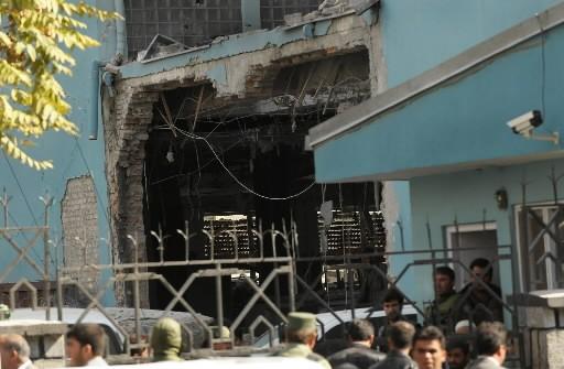 Attentat en plein centre de Kaboul... (Photo: AFP)
