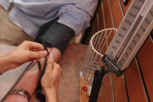 Plus de la moitié des personnes diagnostiquées comme souffrant d'hypertension...