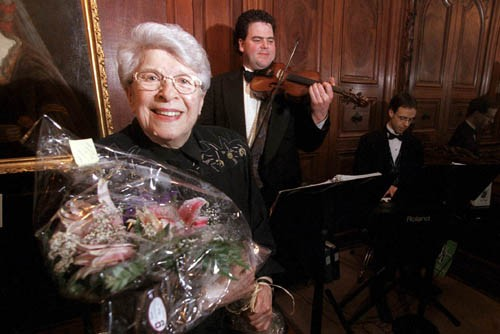 Clairette Oddera, décédée ce mardi, avait deux... (Photo: archives La Presse)