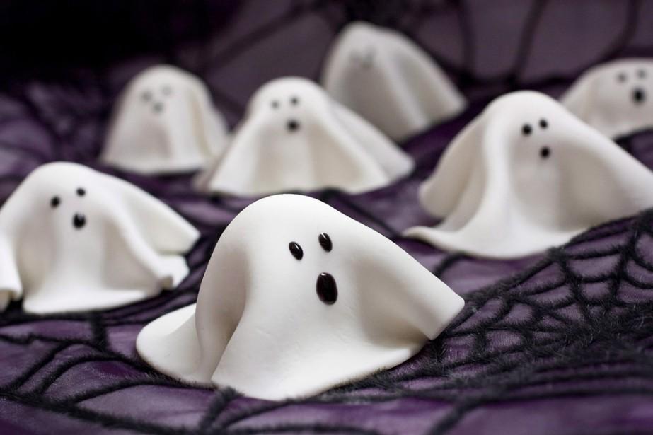 Des fantômes...à déguster!... (AP)