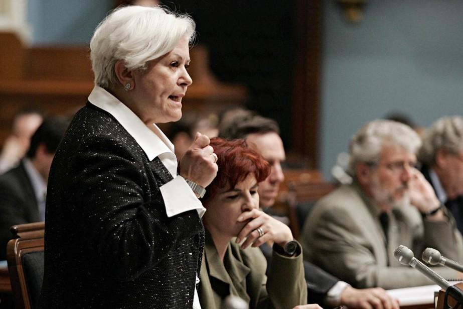 Louise Harel... (Archives La Presse Canadienne)