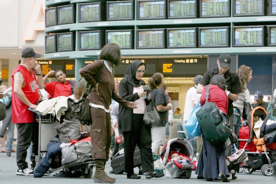 L'industrie américaine du voyage table sur un impact modéré de la... (Photo: AP)