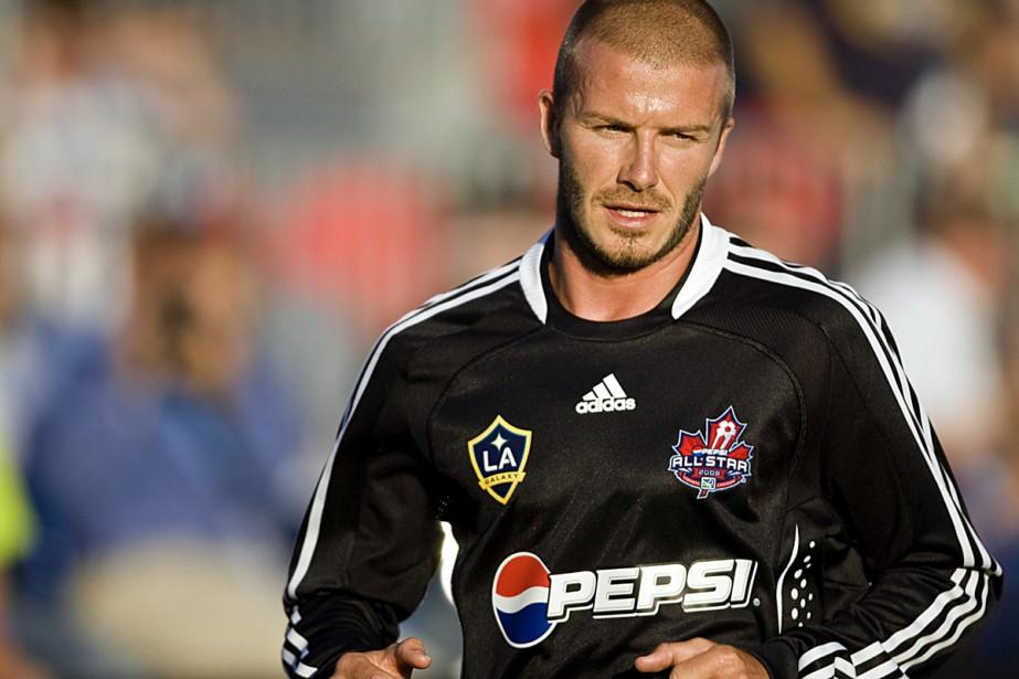 David Beckham... (Photo: AFP)