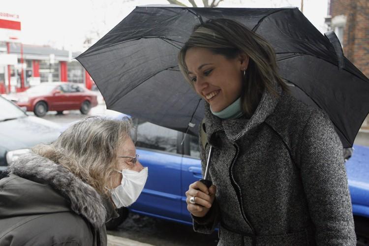 Elsie Lefebvre avait causé une surprise en se... (Photo: François Roy, La Presse)