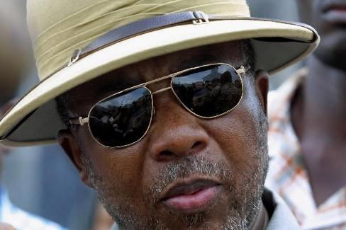 Charles Taylor père... (Photo AFP)