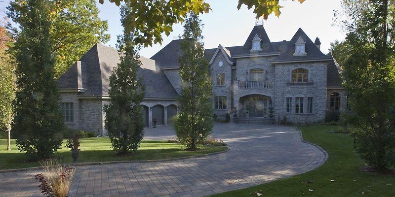 En faisant construire cette maison, les propriétaires voulaient... (Photo David Boily, La Presse)