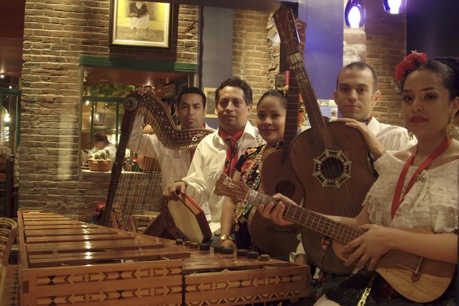 Le groupe folklorique Yohualichan maintient la tradition ancestrale... (Photo: fournie par Yohualichan)