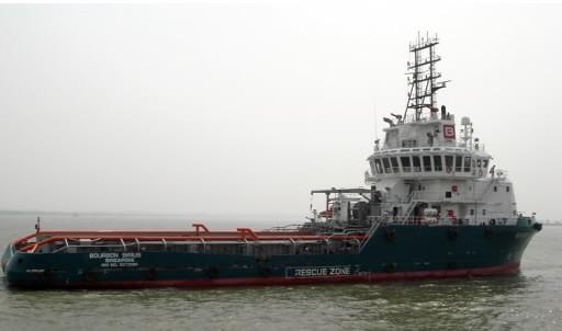 Un bateau de l'entreprise Bourbon.... (Photo: AFP)