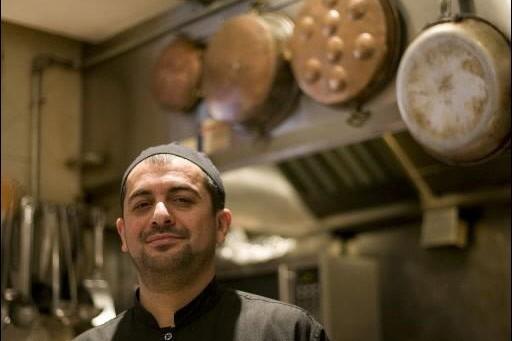Ali Ashtiani, chef du restaurant Rumi... (Photo: David Boily, La Presse)