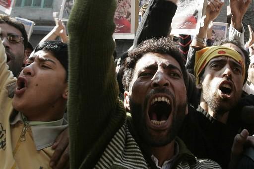 Cinquante personnes ont été blessées vendredi dans la partie... (Photo: Reuters)