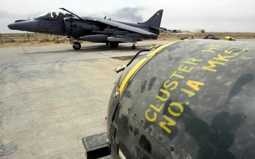 Un réservoir de bombes à munition... (Photo: AFP)