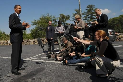 L'intérêt extraordinaire suscité par l'élection présidentielle... (Photo: AFP)