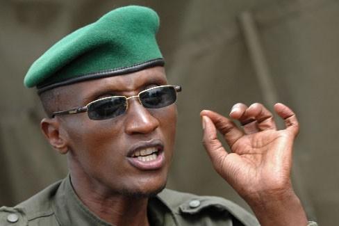 Le chef rebelle tutsi congolais Laurent Nkunda... (Photo: AFP)