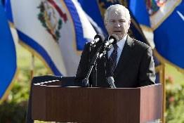 Le secrétaire américain à la Défense, Robert Gates... (Photo: Reuters)