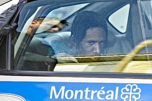 Benson Benoit, 26 ans, a été arrêté dans... (Photo: Patrick Sanfaçon, La Presse)