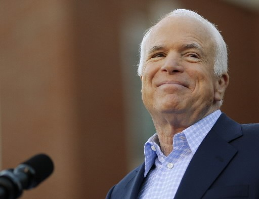 John McCain... (Photo: Reuters)