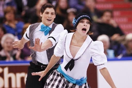 Vanessa Crone and  Paul  Poirier ont... (Photo: AFP)
