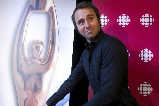 Louis-José Houde, animateur du Gala de l'ADISQ.... (Photo: Rémi Lemée, La Presse)