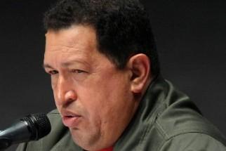 Le président vénézuélien Hugo Chavez... (Photo: AFP)