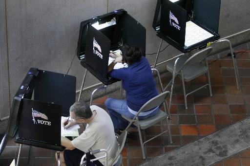 Le vote par anticipation s'est terminé hier, partout... (Photo : Reuters)