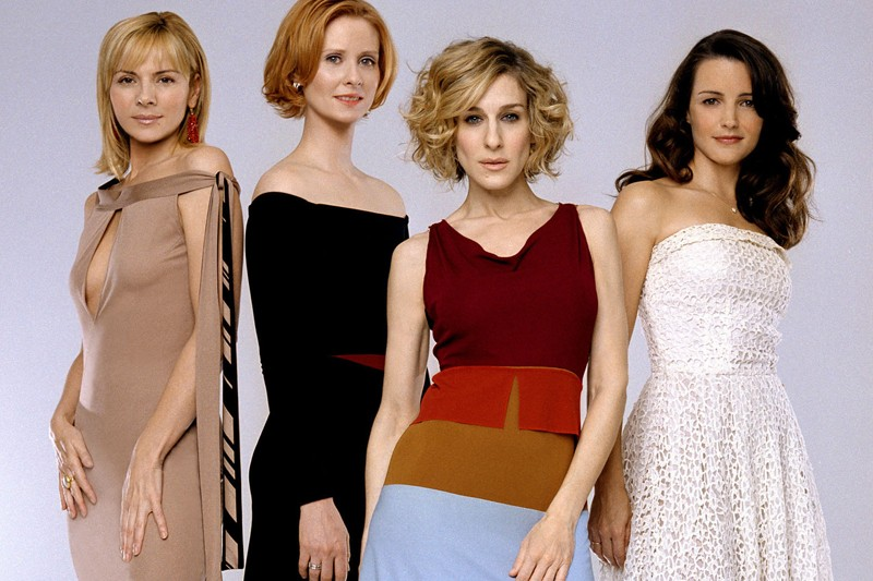 Les quatre actrices de la série télé Sex... (Photo: archives Reuters)