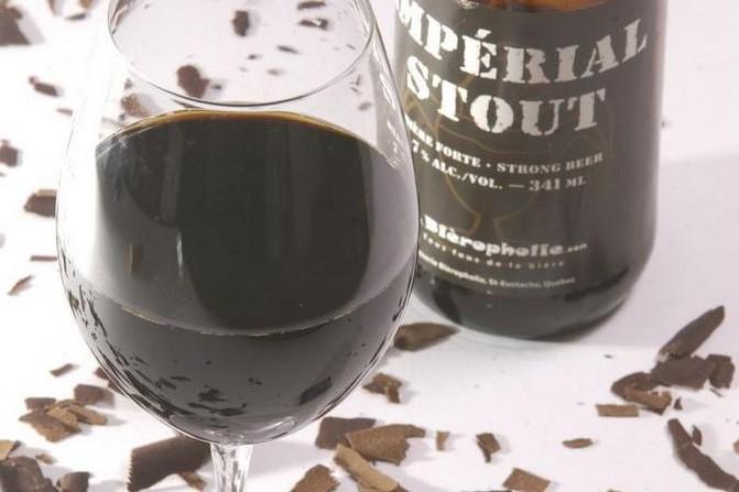 La bière Stout se marie parfaitement avec du... (Photo Martin Chamberland, La Presse)