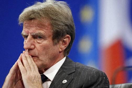 Le ministre français des Affaires étrangères Bernard Kouchner... (Photo: Reuters)