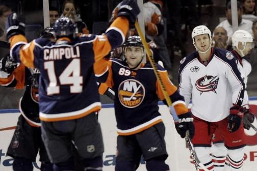 Chris Campoli a marqué ses deux premiers buts en près d'un an, le... (Photo: AP)