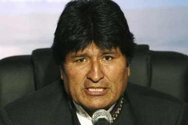 Evo Morales... (Photo: Reuters)