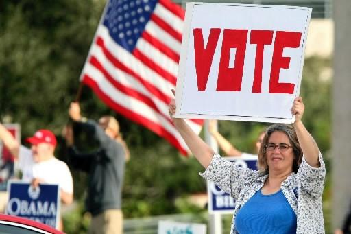 De tous les États incertains (swing states) c'est celui comptant... (Photo: AP)