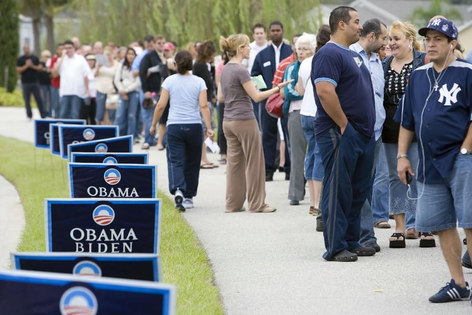 Dans tout l'état de la Floride, le déroulement... (Photo: Bloomberg)