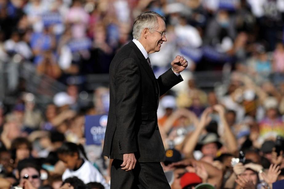 Le leader de la majorité démocrate du Sénat... (Photo: Bloomberg)