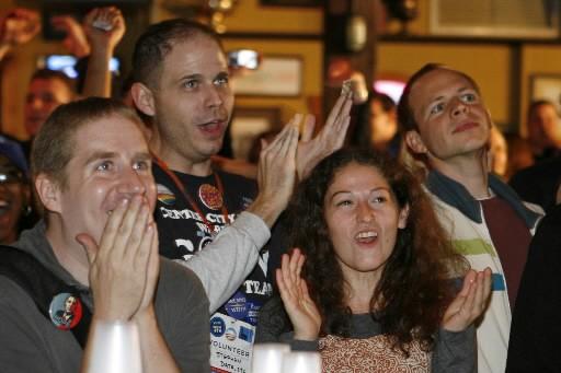 Barack Obama et les démocrates ont remporté une victoire... (Photo: Reuters)