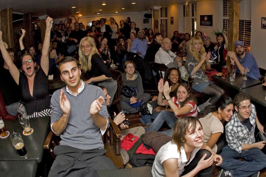 À 23 heures tapant, tout le monde s'est... (Photo: André Pichette, La Presse)