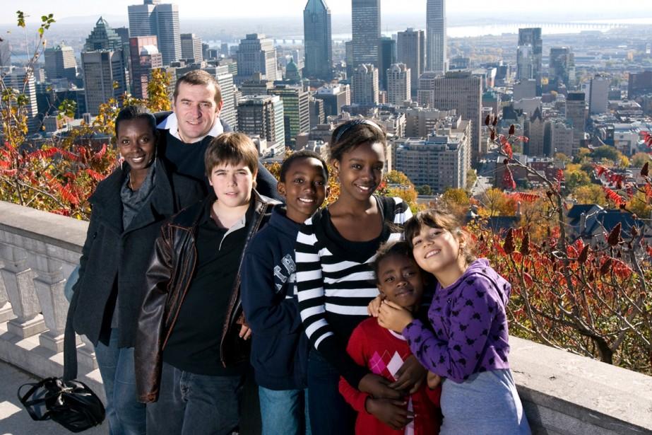 FAmille de cinq enfants cherche médecin. Éric Sasset,... (Photo André Tremblay, La Presse)