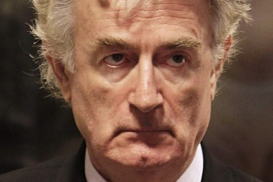 Radovan Karadzic... (Photo: AFP)