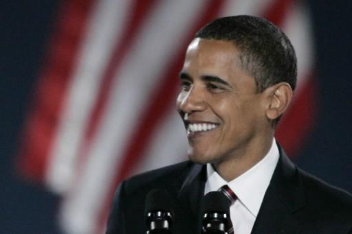 Barack Obama, nouveau président des États-Unis.... (Photo: Reuters)